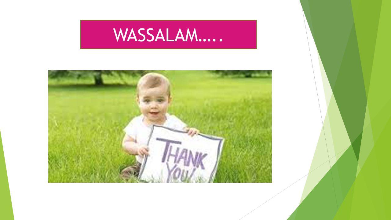 WASSALAM…..