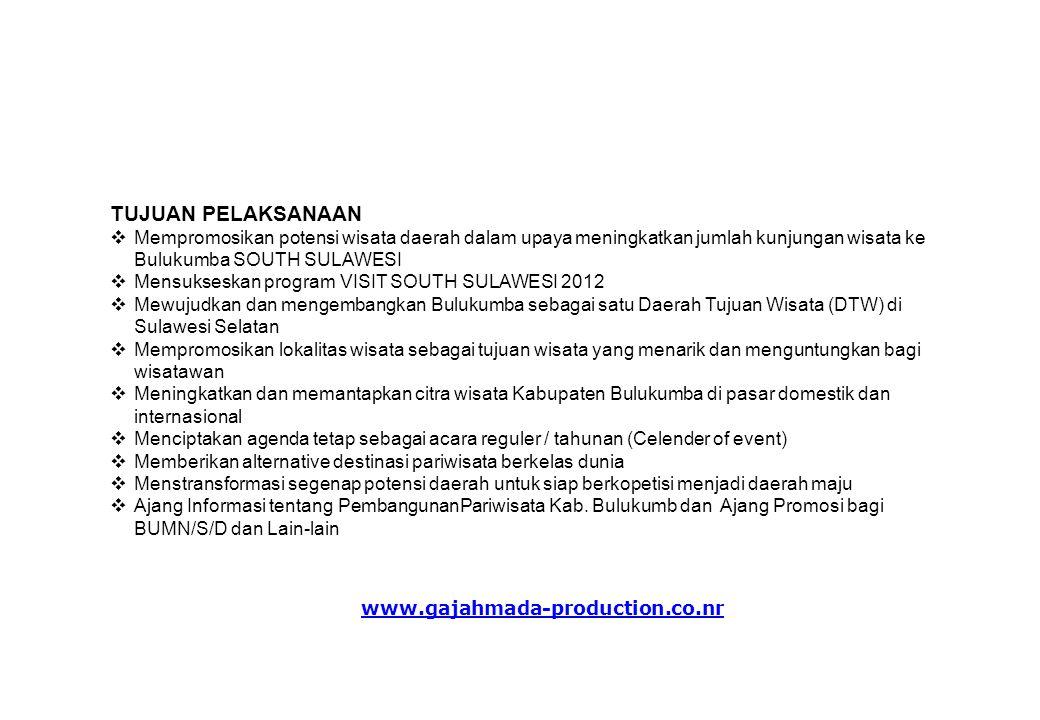 NAMA KEGIATAN FESTIVAL PINISI 2011 dengan title kegiatan Satu Hati Bulukumbaku PENYELENGGARA DINAS KEBUDAYAAN DAN PARIWISATA KABUPATEN BULUKUMBA PELAKSANA GAJAH MADA PRODUCTION Didukung sepenuhnya oleh : * Kementerian Pariwisata Republik Indonesia * Pemerintah Propinsi Sulawesi Selatan * Dinas Kebudayaan dan Pariwisata Propinsi Sulawesi Selatan * Pemerintah Kabupaten Bulukumba * Dinas Kebudayaan dan Pariwisata Kabupaten Bulukumba