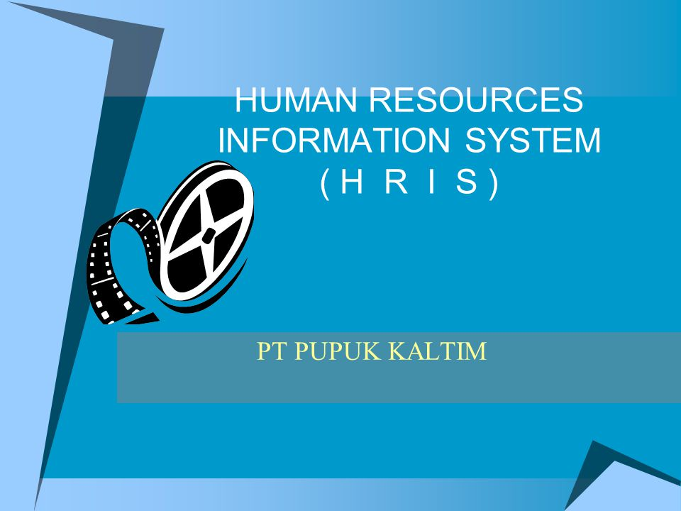 HUMAN RESOURCES INFORMATION SYSTEM ( H R I S ) PT PUPUK KALTIM
