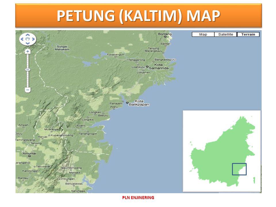 PETUNG (KALTIM) MAP PLN ENJINERING