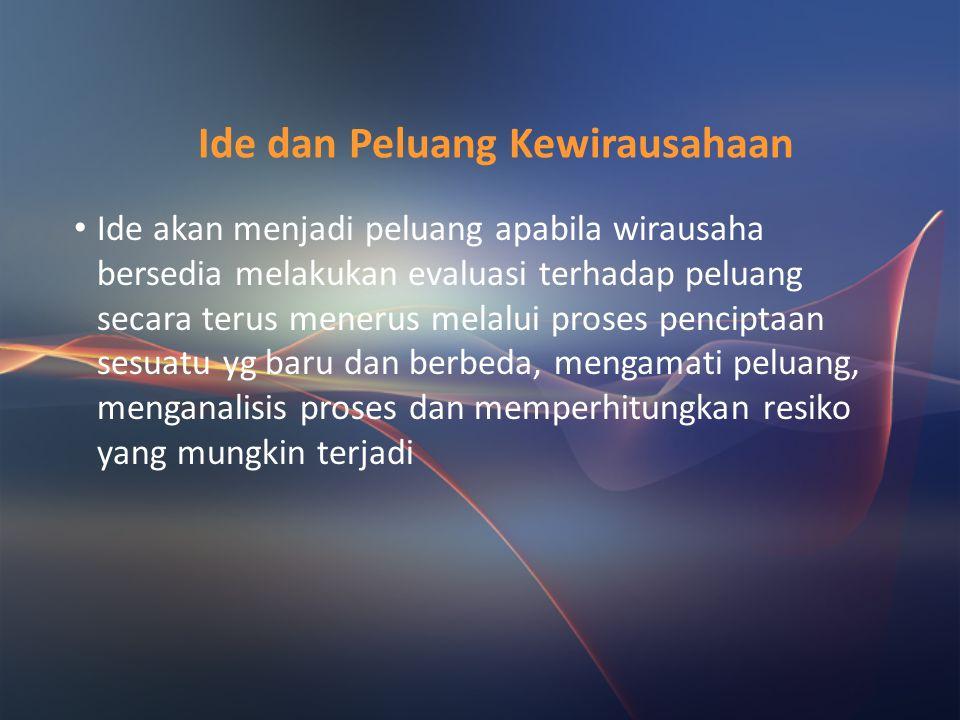 Fungsi dan Peran Wirausaha Wirausaha memiliki 2 peran: 1.Sebagai Penemu (Inovator) Wirausaha menemukan dan menciptakan produk baru, teknologi dan cara
