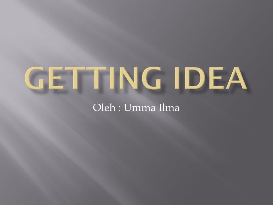 Oleh : Umma Ilma
