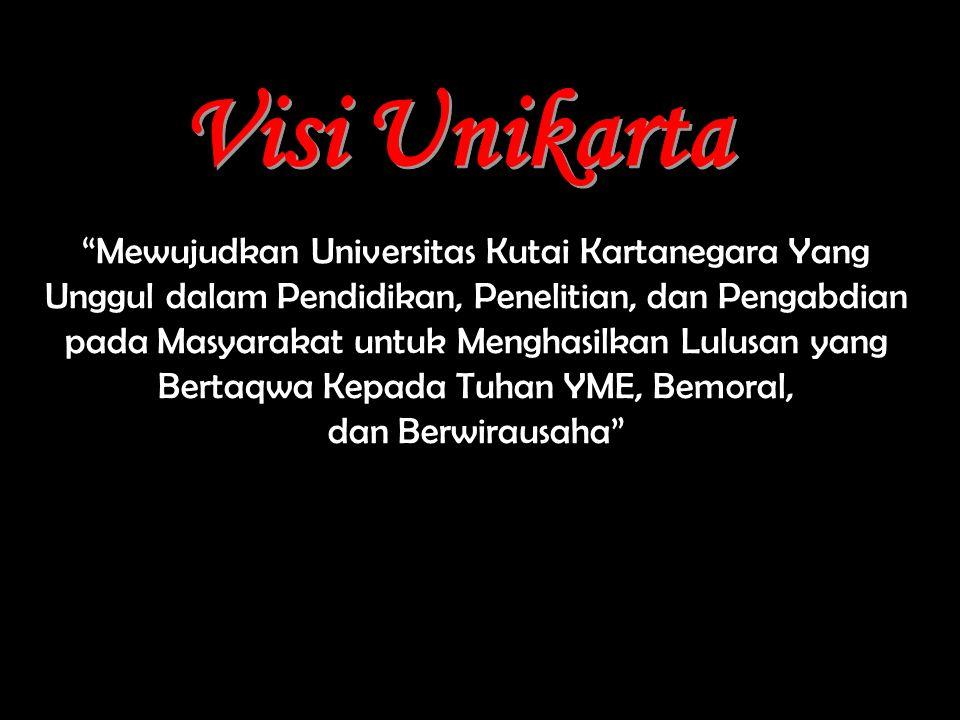 """""""Mewujudkan Universitas Kutai Kartanegara Yang Unggul dalam Pendidikan, Penelitian, dan Pengabdian pada Masyarakat untuk Menghasilkan Lulusan yang Ber"""