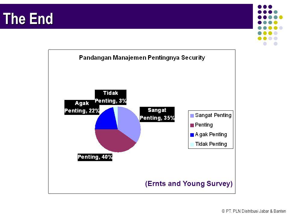 © PT. PLN Distribusi Jabar & Banten The End (Ernts and Young Survey)