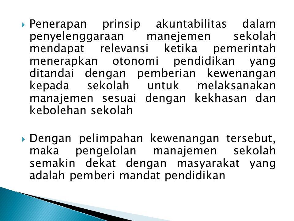  Sistem Informasi Sekolah yang melakukan MBS perlu memiliki informasi yang jelas berkaitan dengan program sekolah.