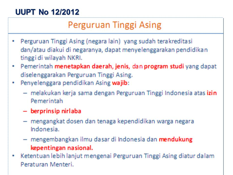 UUPT No 12/2012