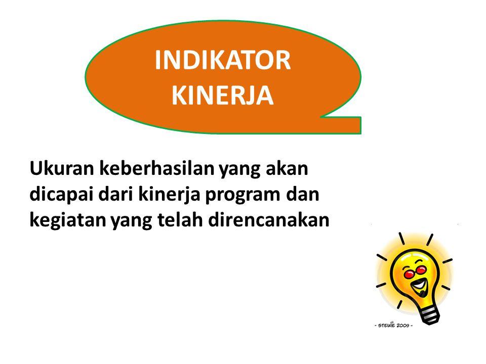 INDIKATOR OUT COME Indikator Out come merupakan Indikator Kinerja Program Out come adalah Segala sesuatu yang mencerminkan berfungsinya keluaran dari kegiatan-kegiatan dalam satu program