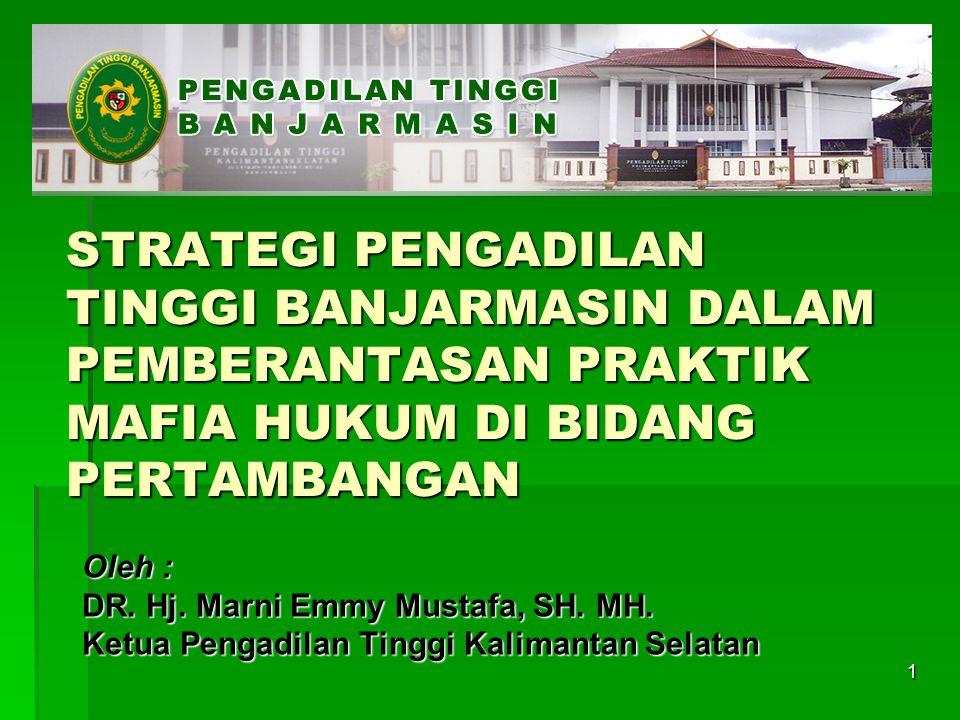 Marni Emmy Mustafa SISTEM PERADILAN DI INDONESIA MAHKAMAH AGUNG (UU NO.