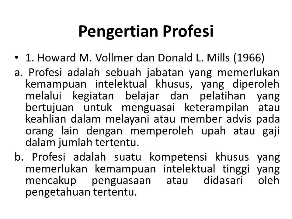 Pengertian Profesi...2. Moh.