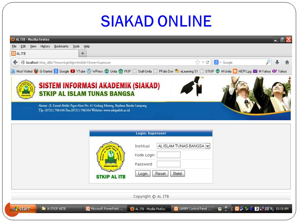 SIAKAD ONLINE 3