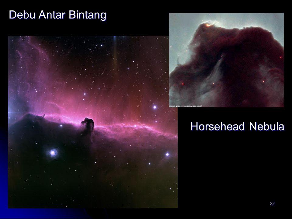 32 Debu Antar Bintang Horsehead Nebula