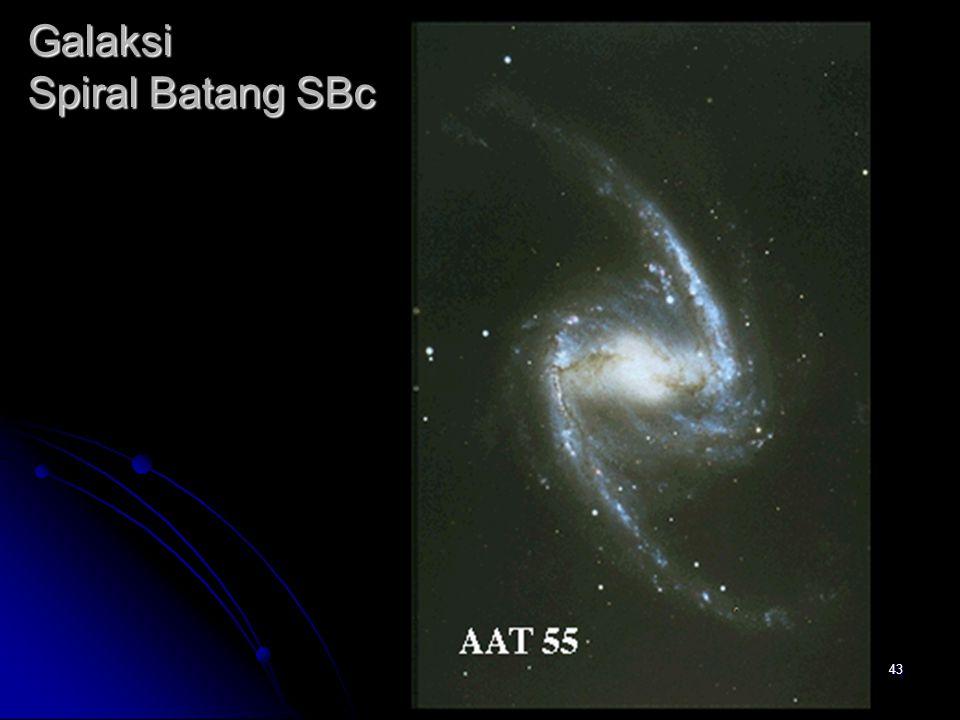 43 Galaksi Spiral Batang SBc