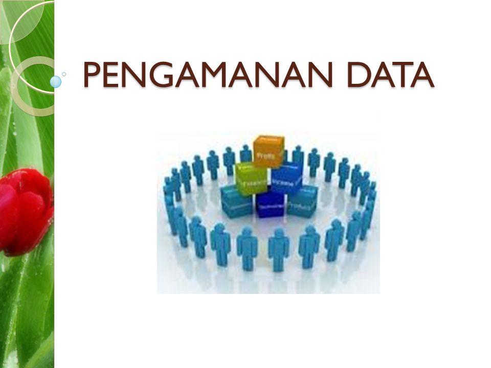 PENGAMANAN DATA