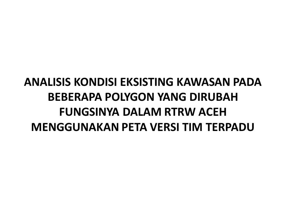 PERMASALAAN REGULASI/QANUN TATA RUANG ACEH NO. 19 TAHUN 2013
