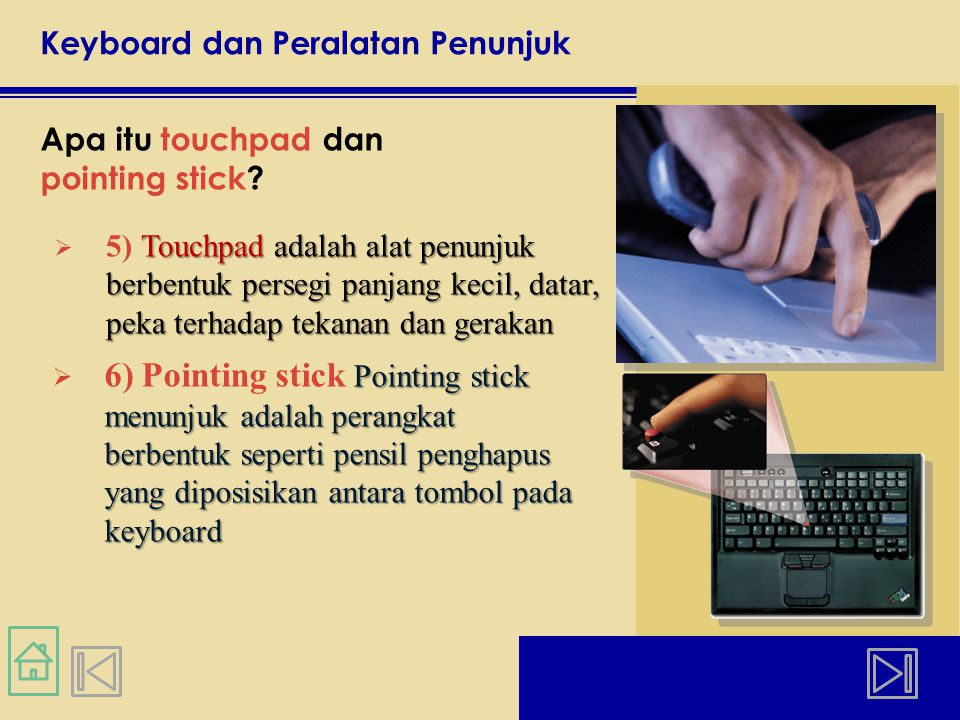 Keyboard dan Peralatan Penunjuk Apa itu joystick dan wheel.