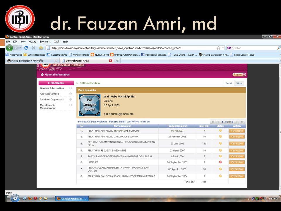 dr. Fauzan Amri, md 24