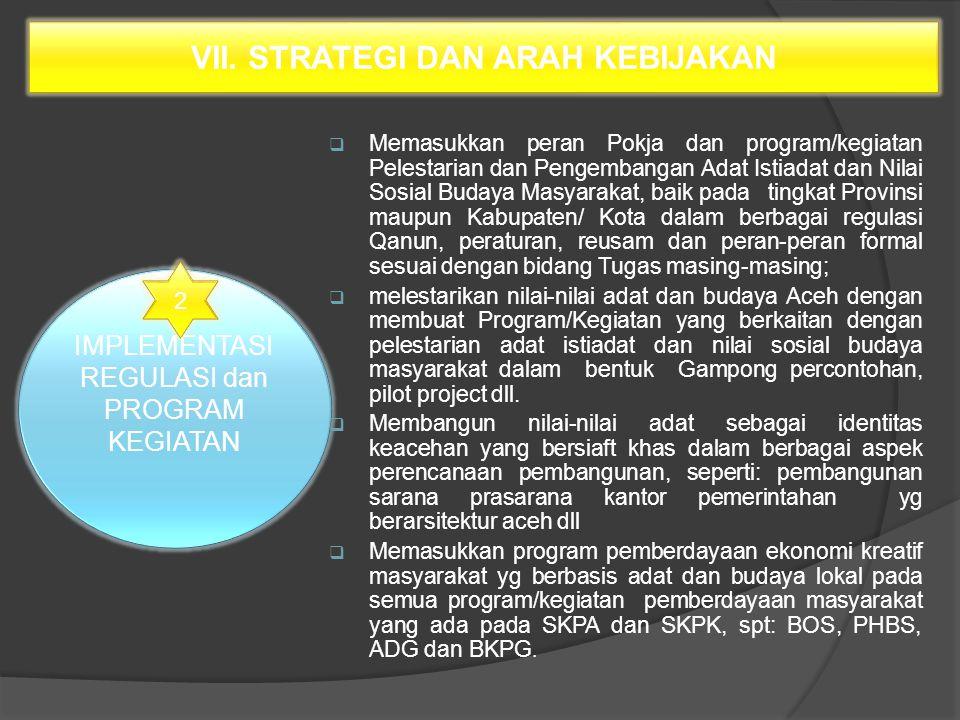 Bagian Kedua Lembaga Adat Desa (PP NO 43 TAHUN 2014 Pasal 30 (1) Penetapan desa adat dilakukan dengan mekanisme: a.
