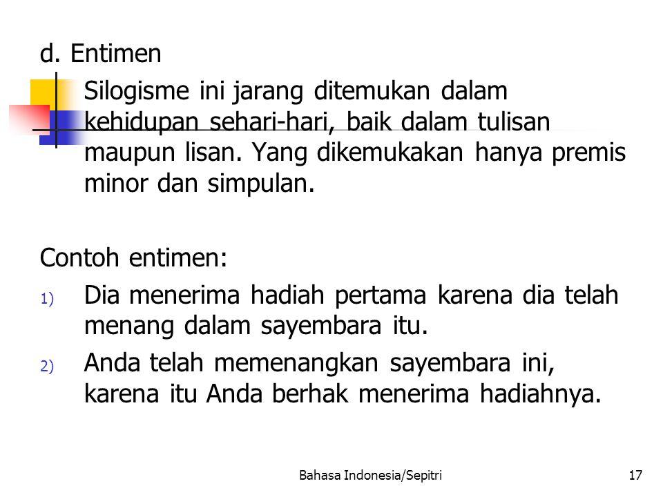 Bahasa Indonesia/Sepitri17 d.