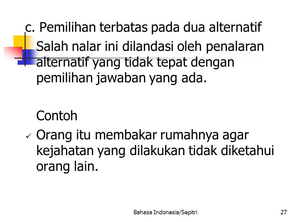 Bahasa Indonesia/Sepitri27 c.