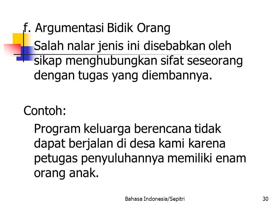 Bahasa Indonesia/Sepitri30 f.