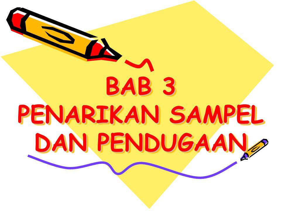 BAB 3 PENARIKAN SAMPEL DAN PENDUGAAN