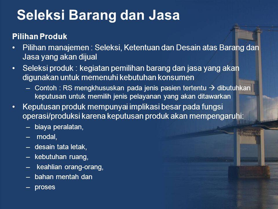 TRANSISI KE PROSES PRODUKSI Pada tahap ini, produk yang diinginkan konsumen telah diseleksi, didesain dan didefinisikan.