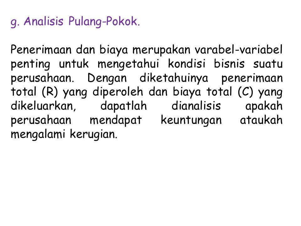 g.Analisis Pulang-Pokok.