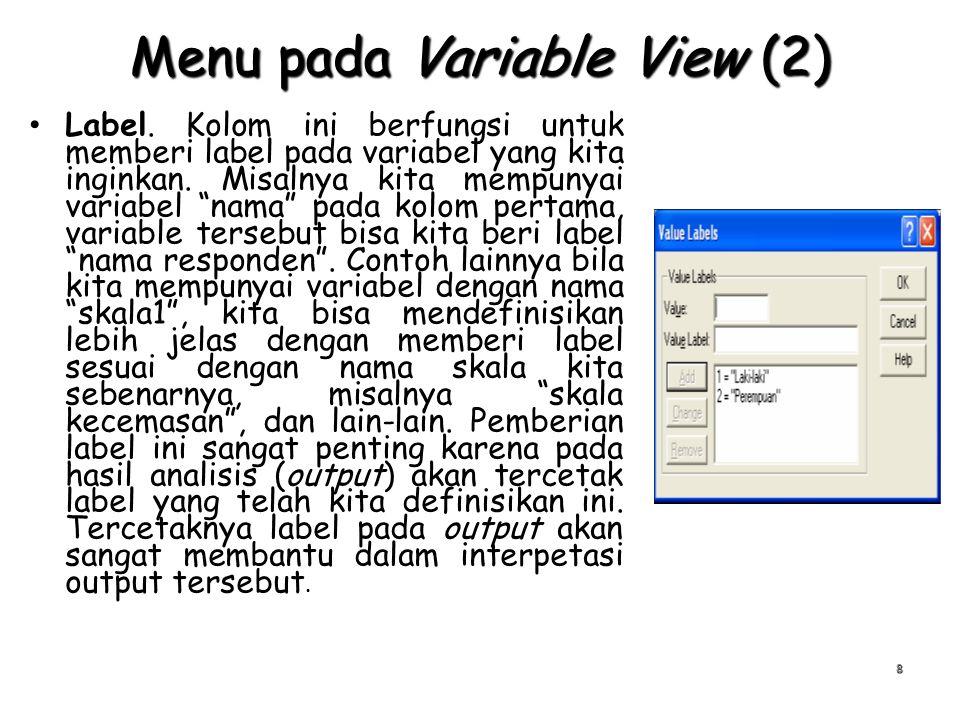 Konversi Data ke Format SPSS (3) 19 Kemudian muncul kotak dialog untuk memilih/ memasukkan file data hasil enti dengan menggunakan CSEntry Kemudain muncul kotak dialog yang akan memperlihatkan nama dan direktori tujuan disimpannya file hasil eksport.