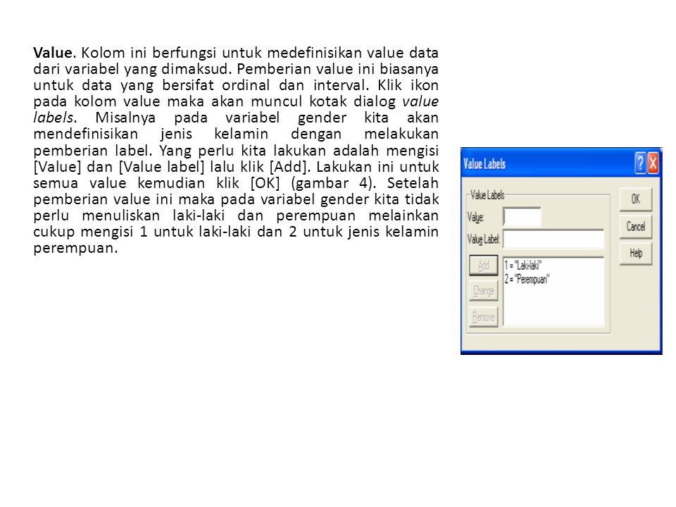 Text Import Wizard Setelah data hasil eksport tersimpan, kita bisa buka dkembali dengan program SPSS.