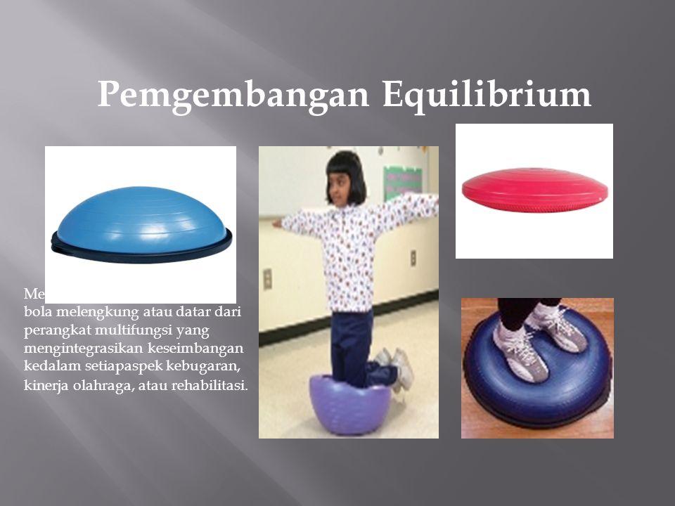 Pemgembangan Equilibrium Alat karet dengan bentuk kacang.