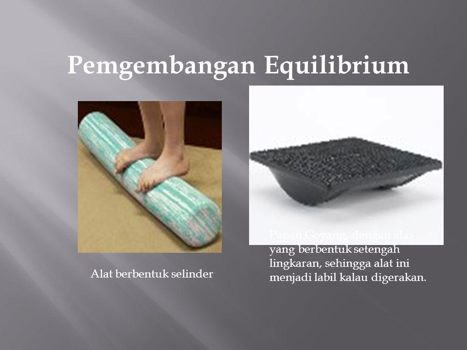 Pemgembangan Equilibrium Papan keseimbangan, dengan tingkat ketinggian yang bisa distel