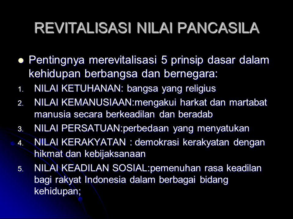 4 PILAR BANGSA INDONESIA BANGSA INDONESIA PANC ASILA NKRI BHINE KA TUNG GAL IKA UUD 45