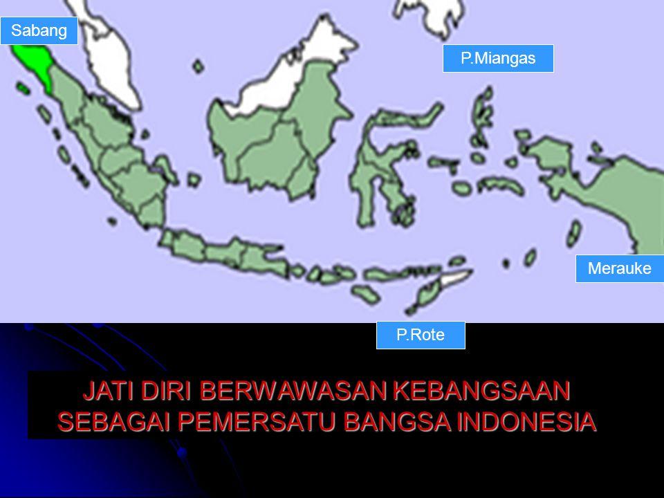 + 5000 km Indonesia, 225 Juta penduduk, > 500 grup etnik, 17.000 pulau, keanekaragaman budaya, kekayaan alami