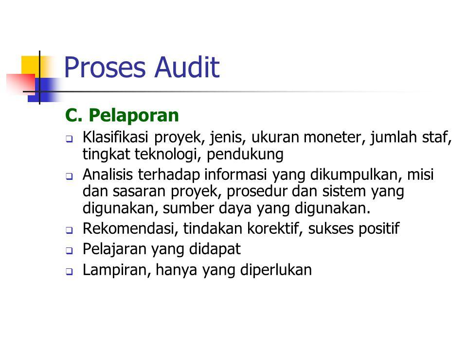 Proses Audit C.