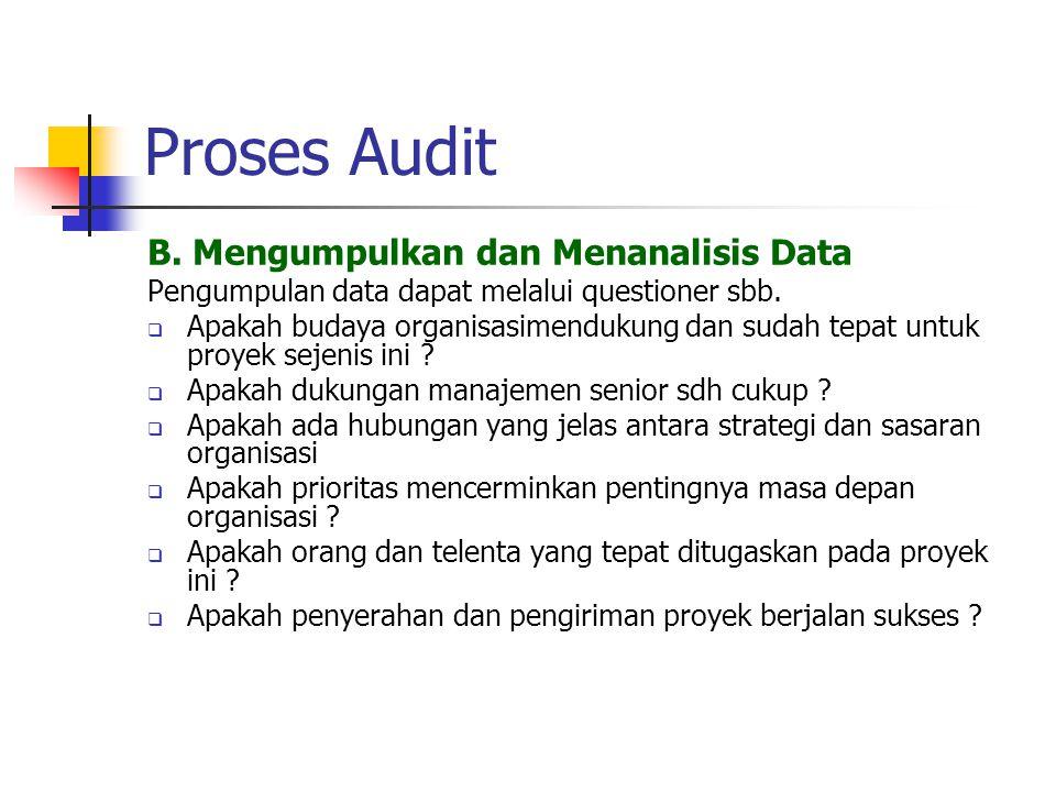 Proses Audit B.