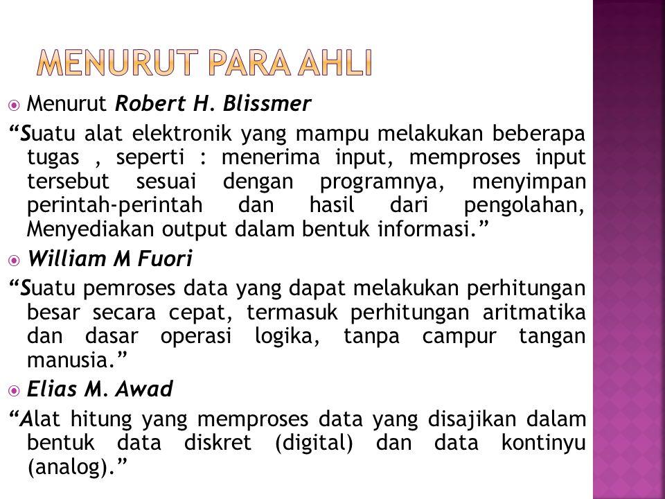 1.Problema & Data 2. Instruksi atau program 3. Bahasa Pemograman 4.