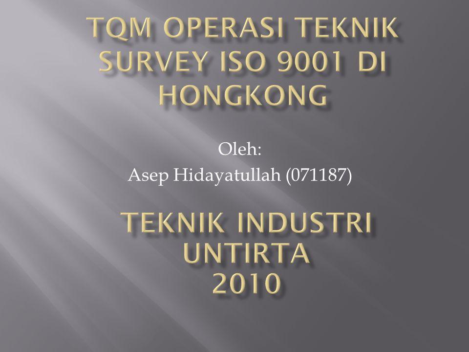 Oleh: Asep Hidayatullah (071187)