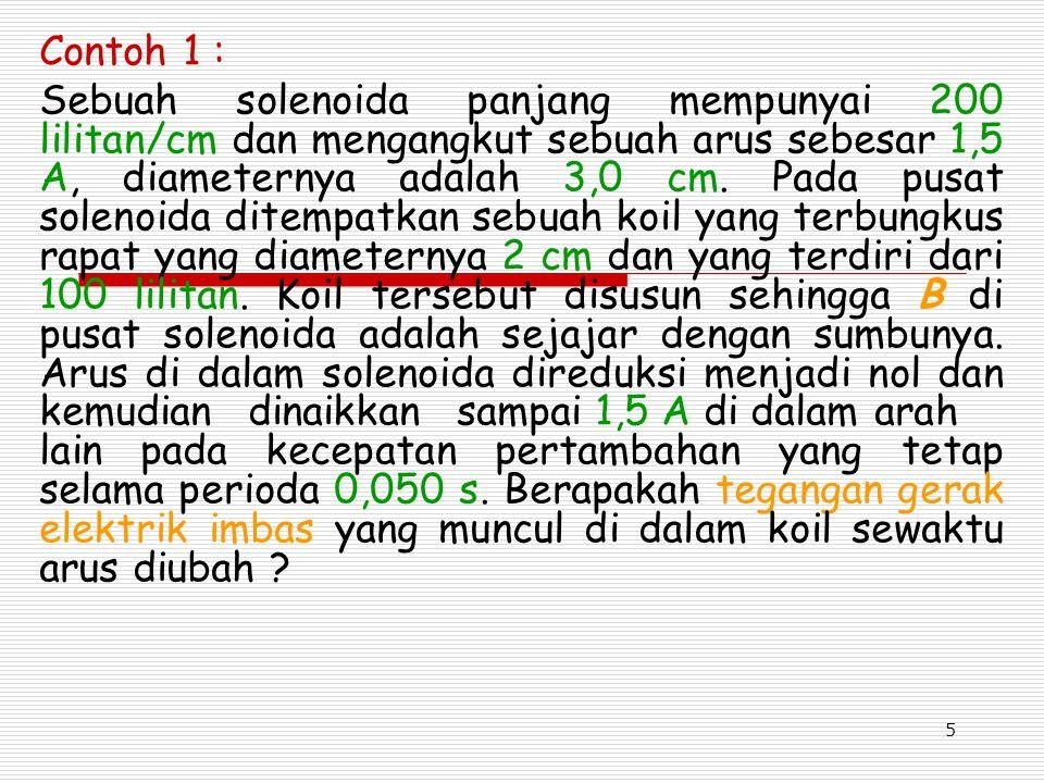 6 10.2Hukum Lenz Hukum Lenz menyatakan bahwa : Arus imbas akan muncul di dalam arah yang sedemikian rupa sehingga arah tersebut menentang perubahan yang menghasilkannya.