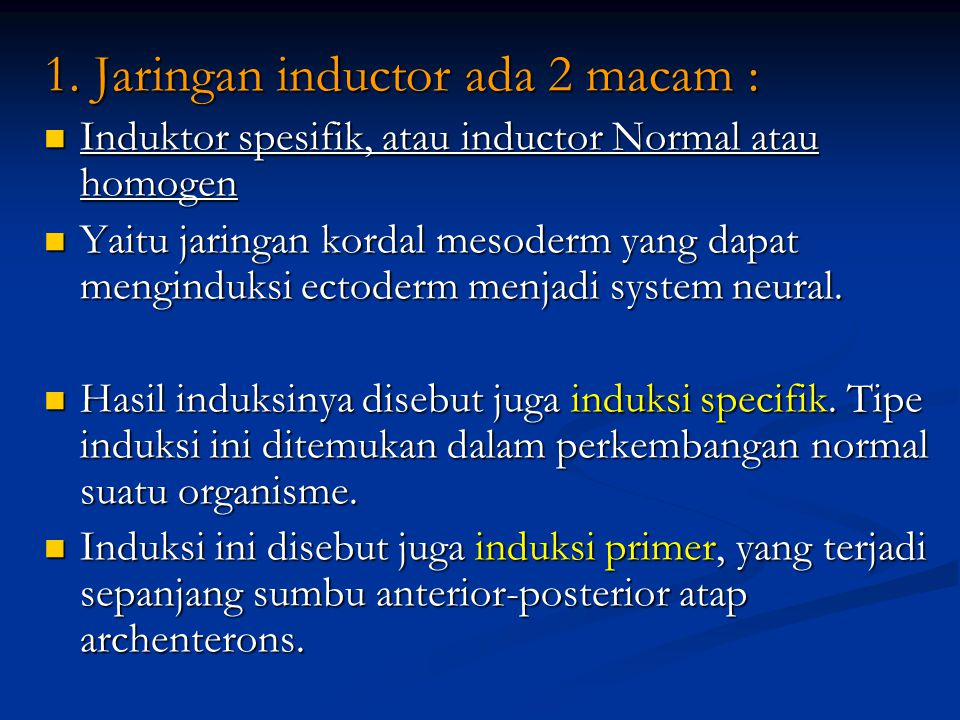 1. Jaringan inductor ada 2 macam : Induktor spesifik, atau inductor Normal atau homogen Induktor spesifik, atau inductor Normal atau homogen Yaitu jar