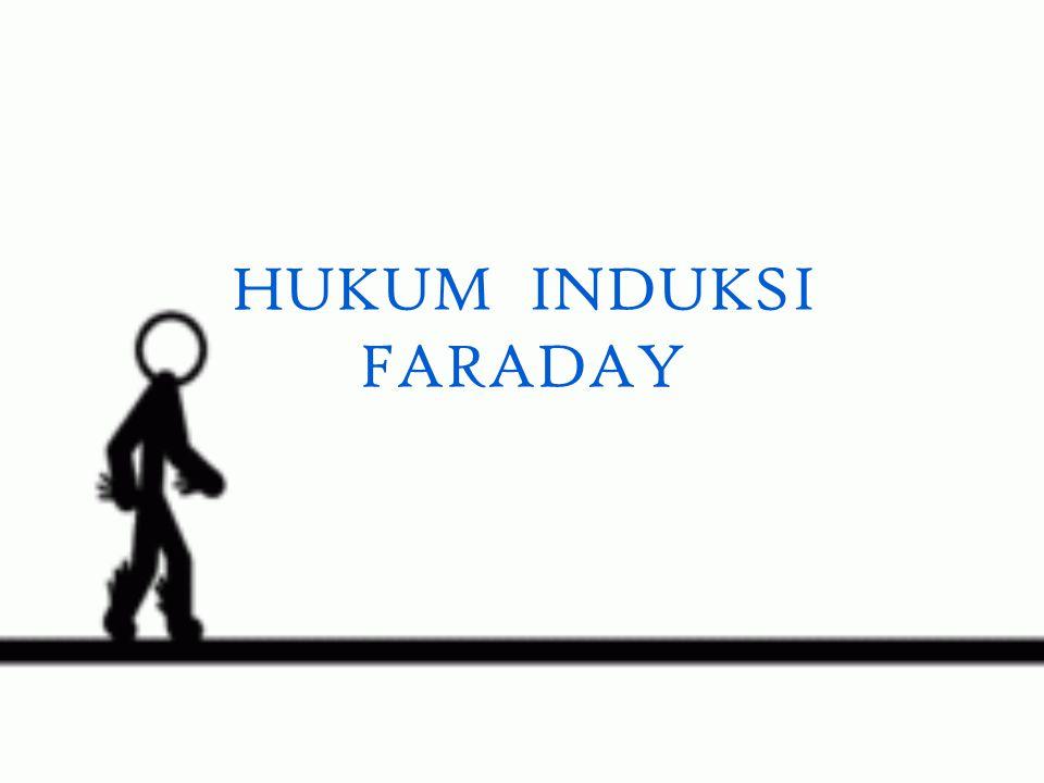 HUKUM INDUKSI FARADAY