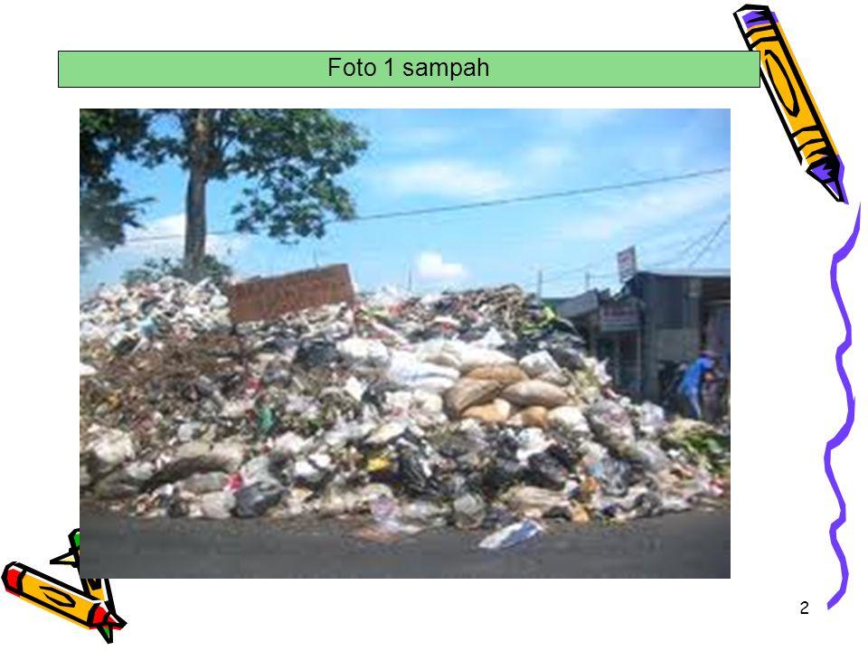 2 Foto 1 sampah