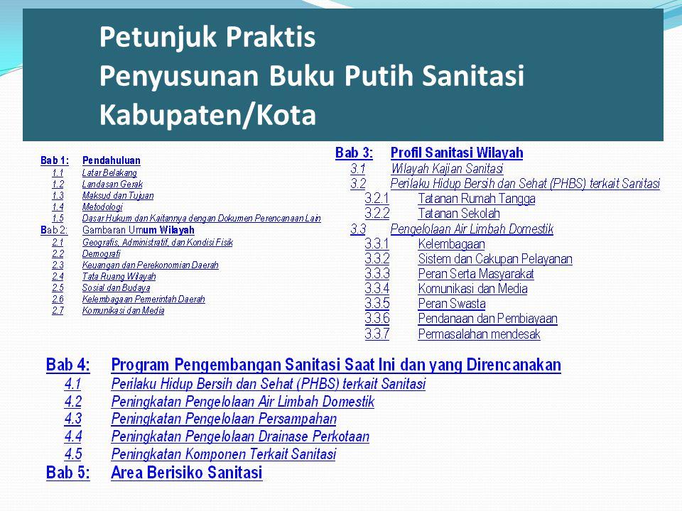 Petunjuk Praktis Penyusunan Buku Putih Sanitasi Kabupaten/Kota