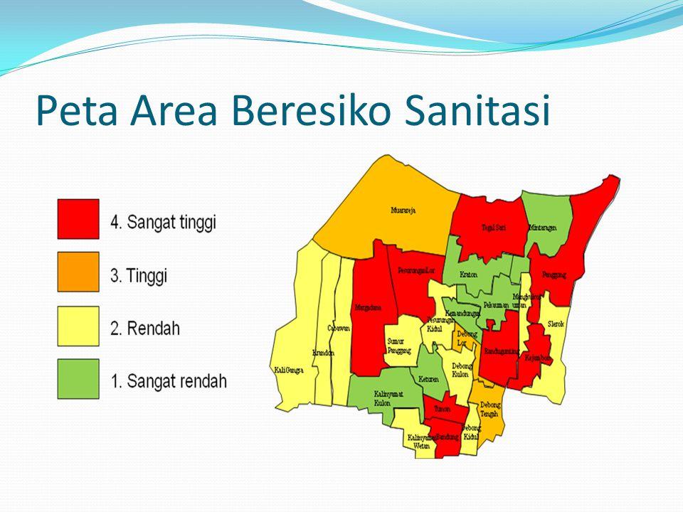 Peta Area Beresiko Sanitasi