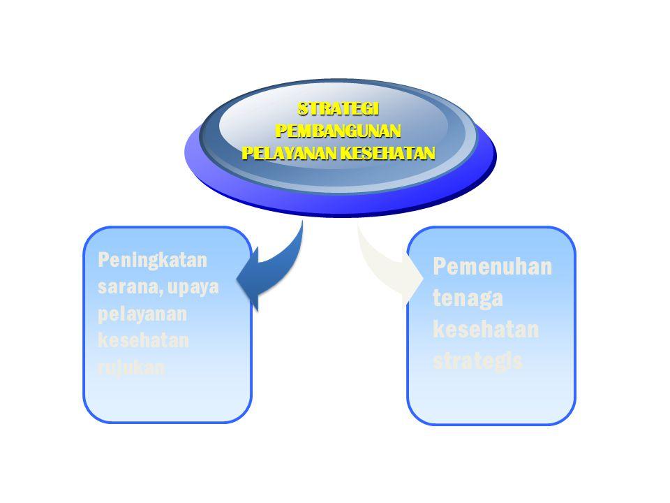 1.Sarana pelayanan kesehatan belum merata serta belum memenuhi standar mutu dan Standar Pelayanan Minimal yang harus dipenuhi (UGD, BD/UTD RS, PONEK di RS); 2.