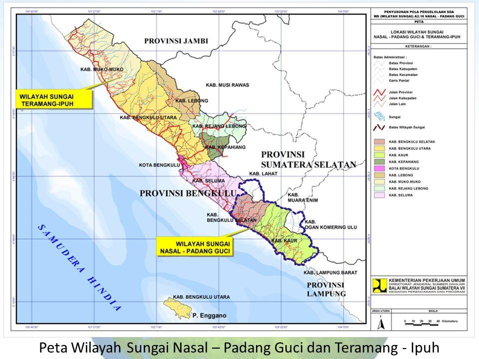 Peta Wilayah Sungai Nasal – Padang Guci dan Teramang - Ipuh