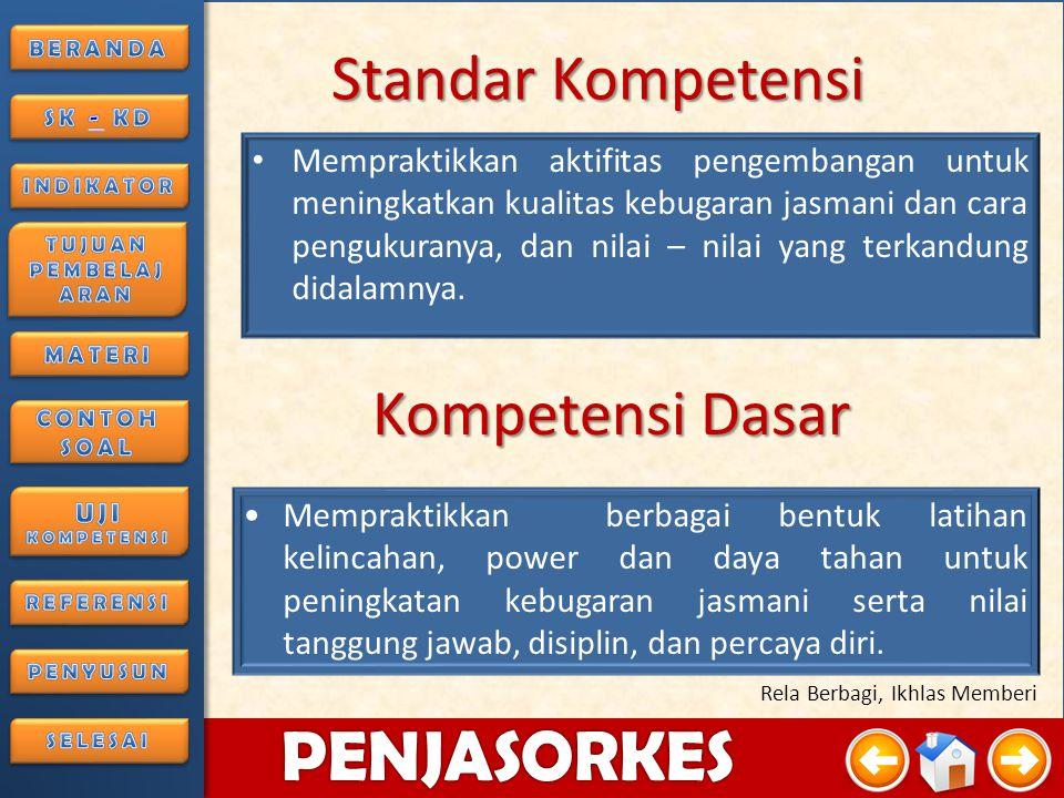 4/3/20153 PENJASORKES Rela Berbagi, Ikhlas Memberi