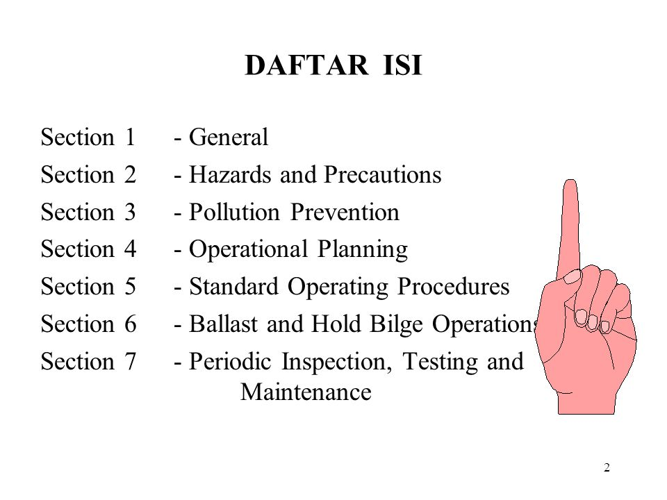 83 6.16 Ballast system loading rate (1) Pengisian tanki-tanki ballast harus selalu dimulai dengan slow rate.
