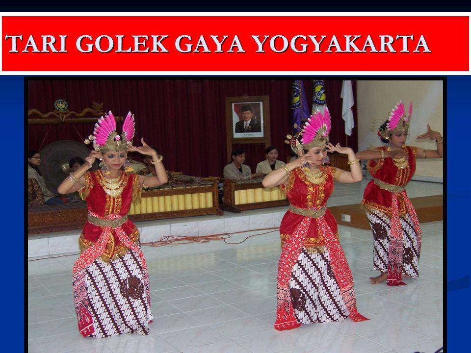 TARI GOLEK GAYA YOGYAKARTA