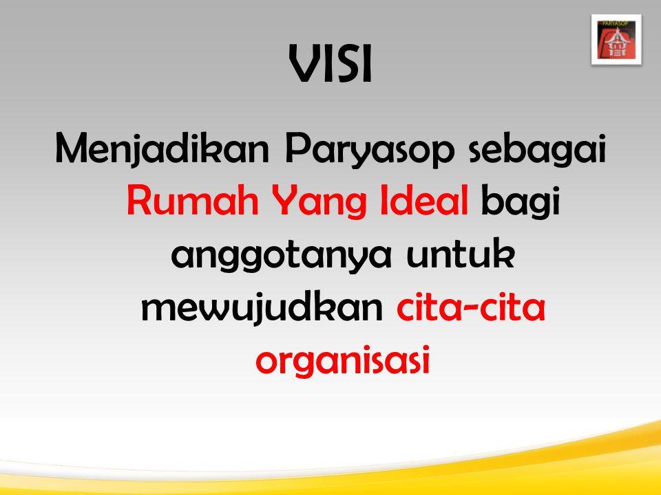 VISI Menjadikan Paryasop sebagai Rumah Yang Ideal bagi anggotanya untuk mewujudkan cita-cita organisasi