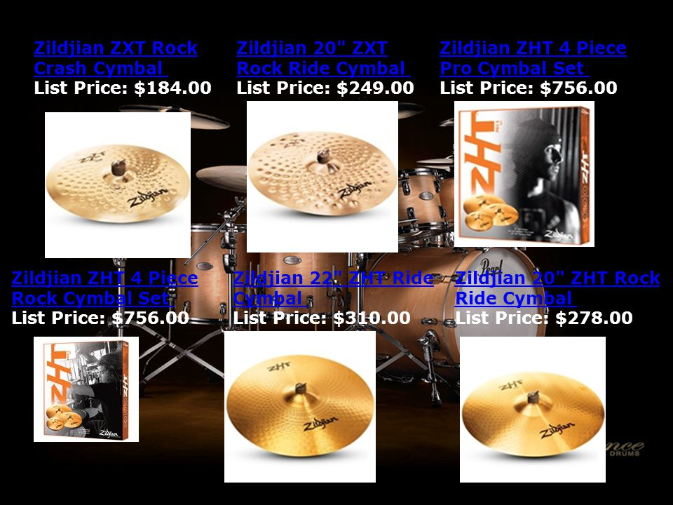 Zildjian ZXT Rock Crash Cymbal Zildjian ZXT Rock Crash Cymbal List Price: $184.00 Zildjian 20